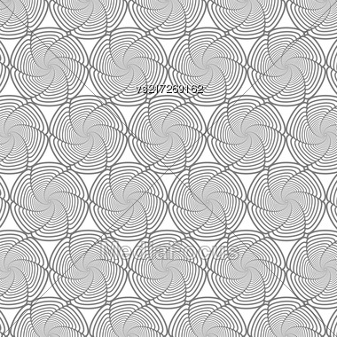 Line Background. Ornamental Texture. Oriental Geometric Ornament Stock Photo