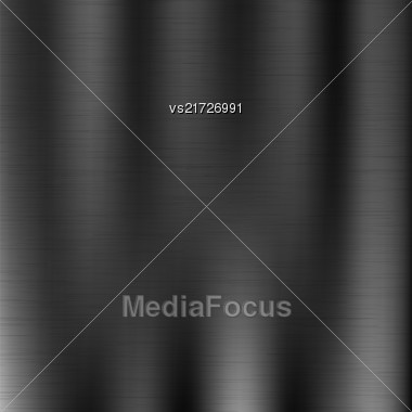 Line Grunge Background. Abstract Black Metal Texture Stock Photo