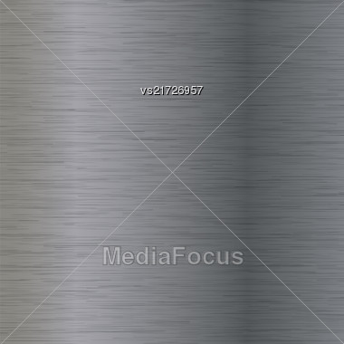 Line Grunge Background. Abstract Grey Metal Texture Stock Photo