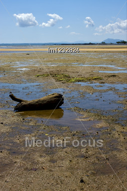Lokobe Reserve, Madagascar Lagoon , Coastline And Sand Stock Photo