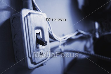 Main Switch Stock Photo
