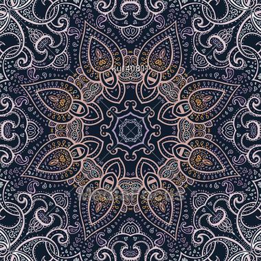 Mandala. Indian Decorative Pattern. Vector Illustration Stock Photo