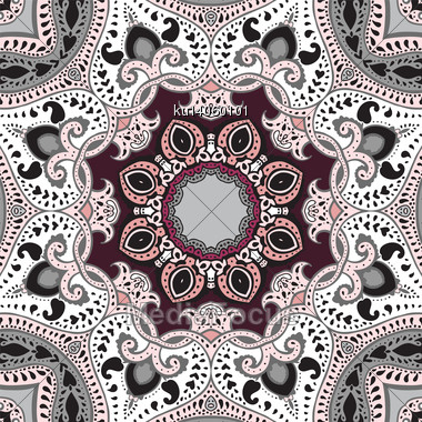 Mandala. Vector Ethnic Pattern, Decorative Background Stock Photo