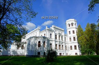 Manor In The Central Estonia. 18 Century. Puurmani. Stock Photo
