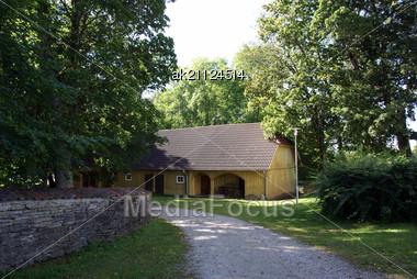 Manor In The North Of Estonia. 18 Century. Sagadi Stock Photo