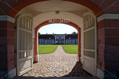 Manor In The North Of Estonia. 18 Century. Sagadi Stock Photo