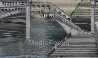 Marble City Stock Photo