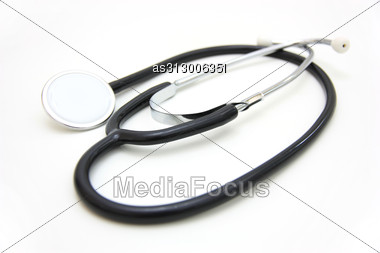 Medical Stetoskop Stock Photo