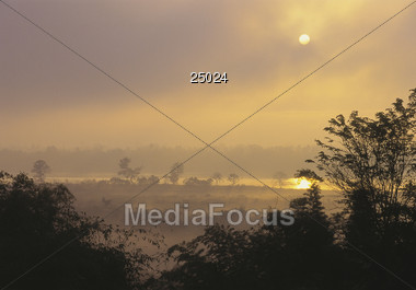 Mekong, Golden Triangle Stock Photo