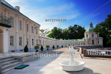 Menshikov Palace In Saint Petersburg, Russia Stock Photo