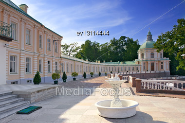 Menshikov Palace In Saint Petersburg, Russia Stock Photo