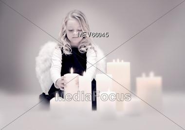 peaceful xmas Christmas Stock Photo