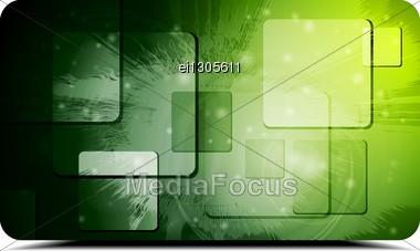 Modern Hi-tech Background. Stock Photo