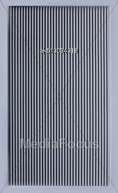 Modern Metal Ventillation Grid Like Style Background Stock Photo