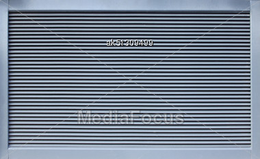 Modern Metal Ventillation Grid Like Style Background Stock Photo