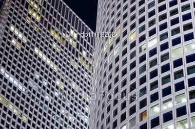Modern Office Building - Azrieli Center Stock Photo