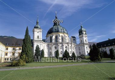 Monastery Ettal, Germany Stock Photo