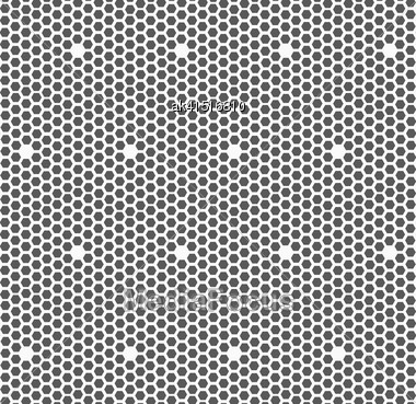 Monochrome Abstract Geometrical Pattern. Modern Gray Seamless Background. Flat Simple Design.Gray Small Hexagons Forming Mosaic Stock Photo