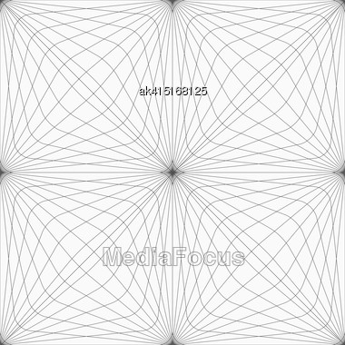 Monochrome Abstract Geometrical Pattern. Modern Gray Seamless Background. Flat Simple Design.Gray Hatched Squared Forming Grid Stock Photo