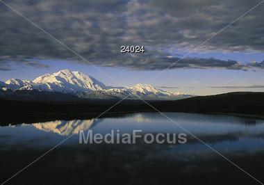 Mt. McKinley Alaska USA Stock Photo