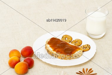 Nourishing And Healthy Meal For The Mornings Stock Photo