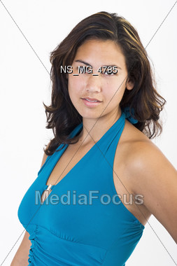 studio ethnic person Stock Photo