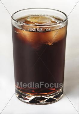 icy caffeine pop Stock Photo