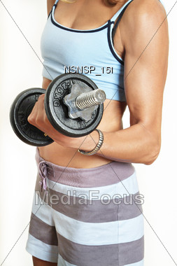 body bust diet Stock Photo