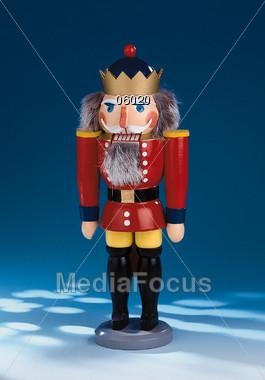 Nutcracker - Christmas Decoration Stock Photo