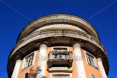 Old Balcony Stock Photo