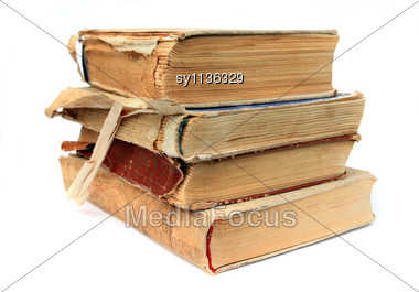 Old Books Stock Photo