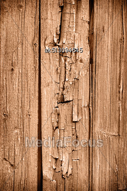 Old Grunge Wooden Plank Background Stock Photo