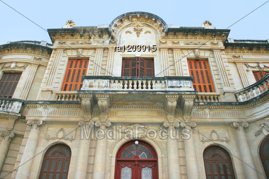 Old Library In Limassol, Cyprus. Stock Photo