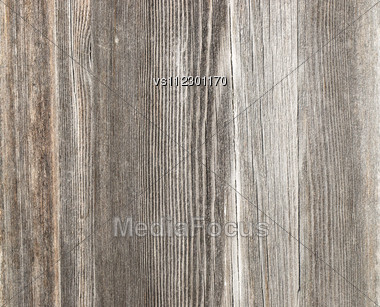 Old Wooden Fence Board. Close Up Stock Photo
