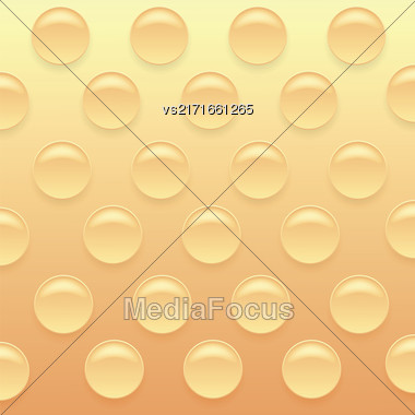 Orange Bubblewrap Background. Orange Plastic Packing Tape Stock Photo