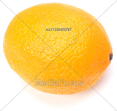 Orange Isolated On White Background Stock Photo