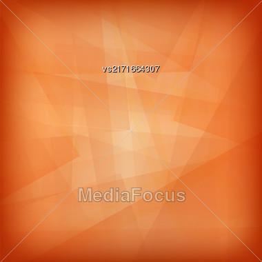 Orange Line Background. Abstract Orange Line Pattern Stock Photo