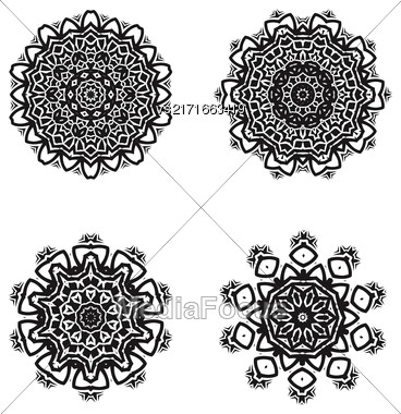 Ornamental Line Pattern. Endless Texture. Oriental Geometric Ornament Stock Photo