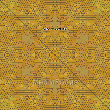 Ornamental Red Brick Background. Textured Stone Pattern Stock Photo