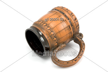 Ornate Beer Jug Stock Photo