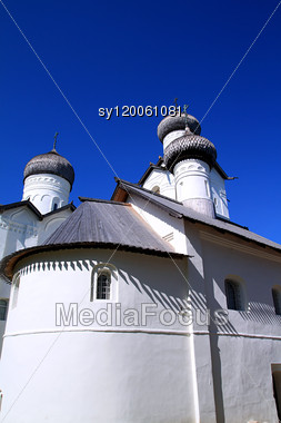 Orthodox Church, 1198 Year Stock Photo