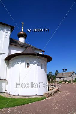 Orthodox Church, 1198 Year Stock Photo