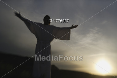 Outstretched Arms Stock Photo