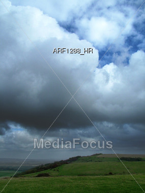 Overcast Skies Stock Photo