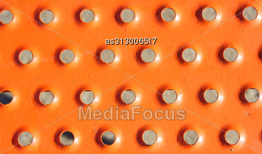 Painted Metal Aircraft Background Stock Photo