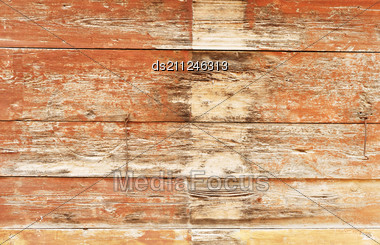 Pattern Of Obsolete Wood Plank Stock Photo