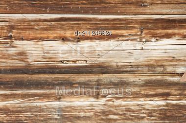 Pattern Of Obsolete Wood Plank Stock Photo