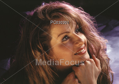 faces ups women Stock Photo