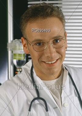medical surgeons physician Stock Photo
