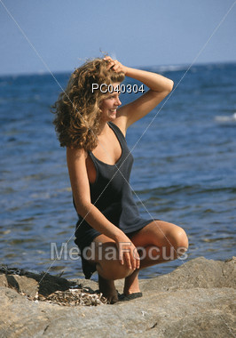 expression happiness vacations Stock Photo